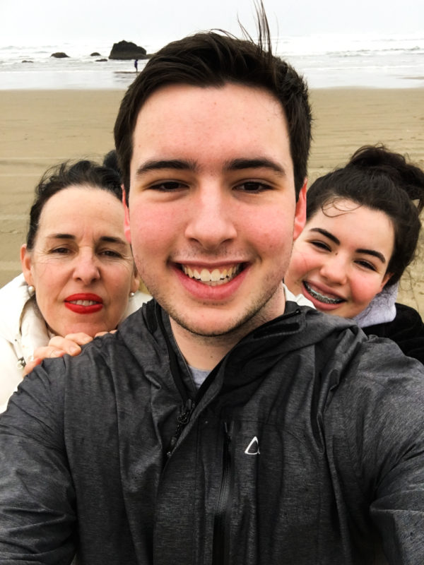 Cannon Beach Family Pic