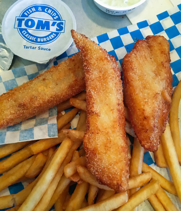 Tom's Fish and Chips