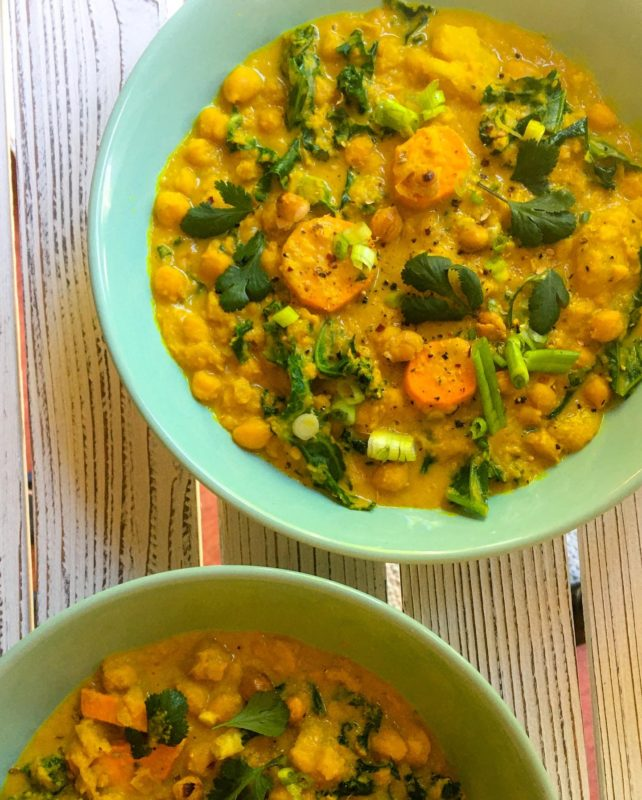 Alison Roman the stew turmeric chickpea