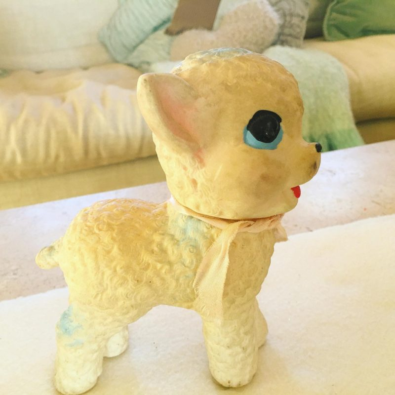 SCRAP squeaky toy vintage