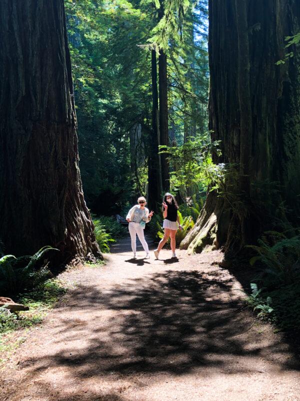 girls getaway redwoods