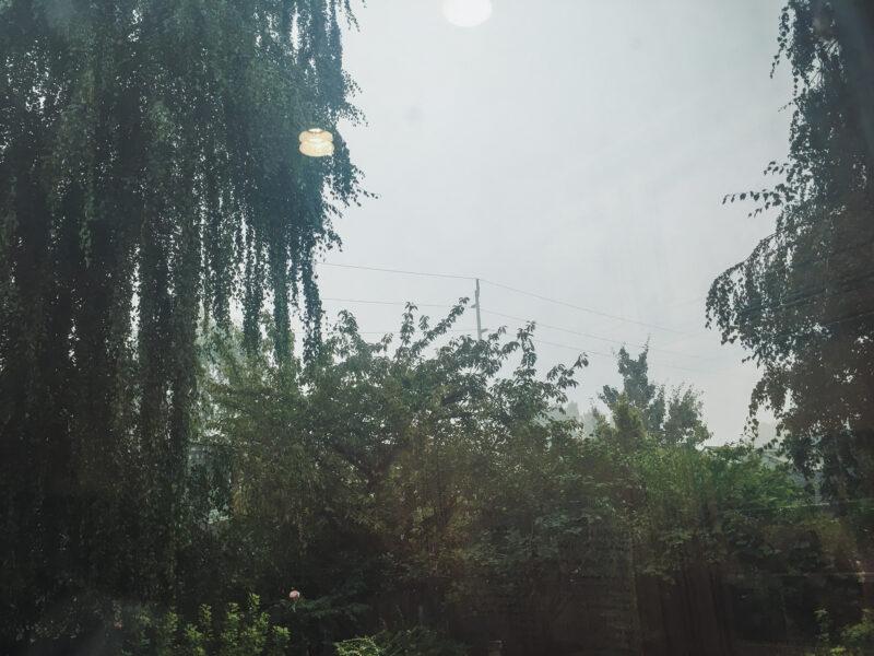 smoky skies Portland