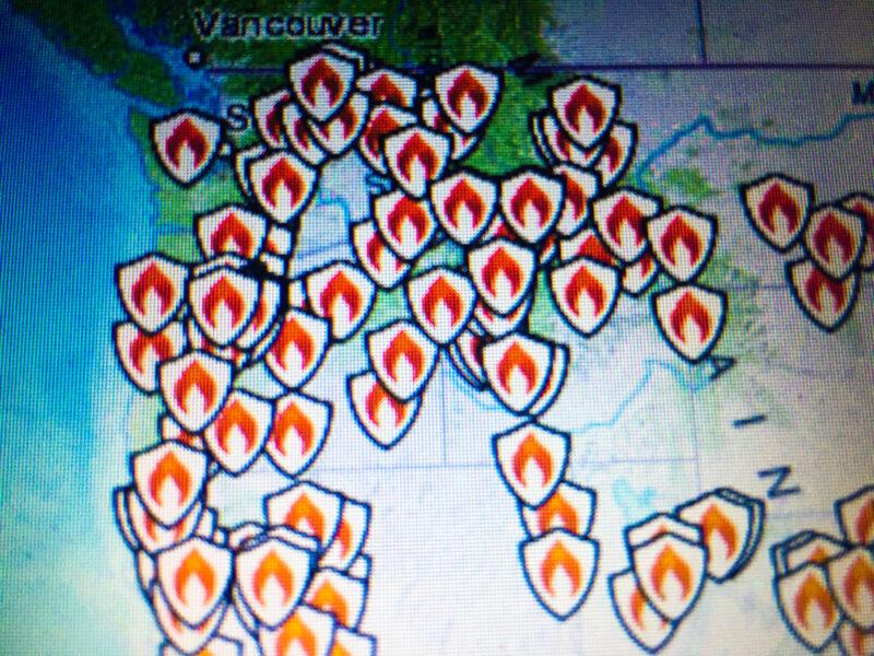 fires Portland Oregon